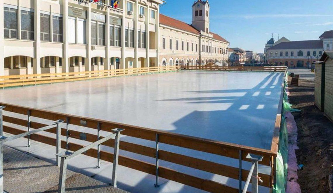 Hamarosan nyit a főtéri korcsolyapálya