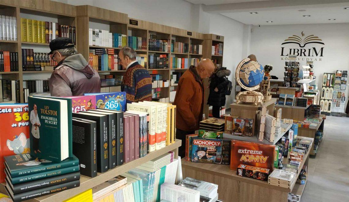Az első kávézós könyvesboltunk