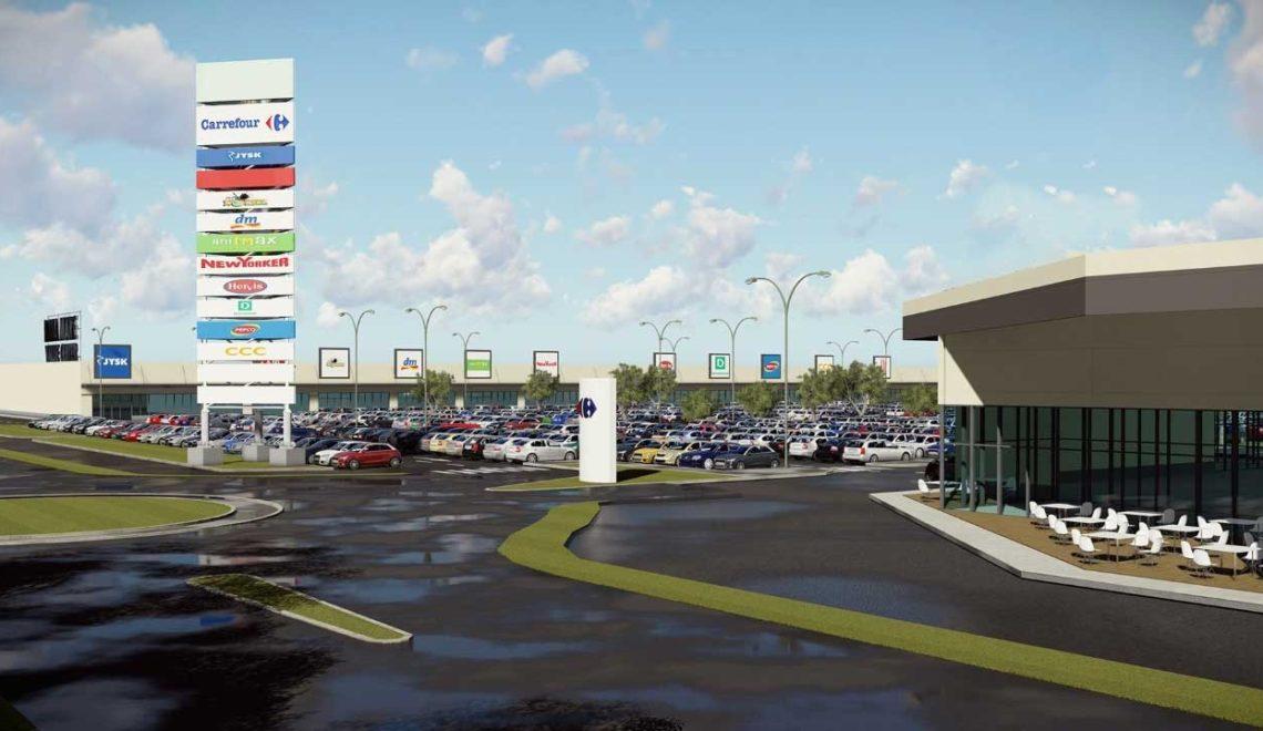 2020-ban nyithat Háromszék legnagyobb bevásárlóközpontja
