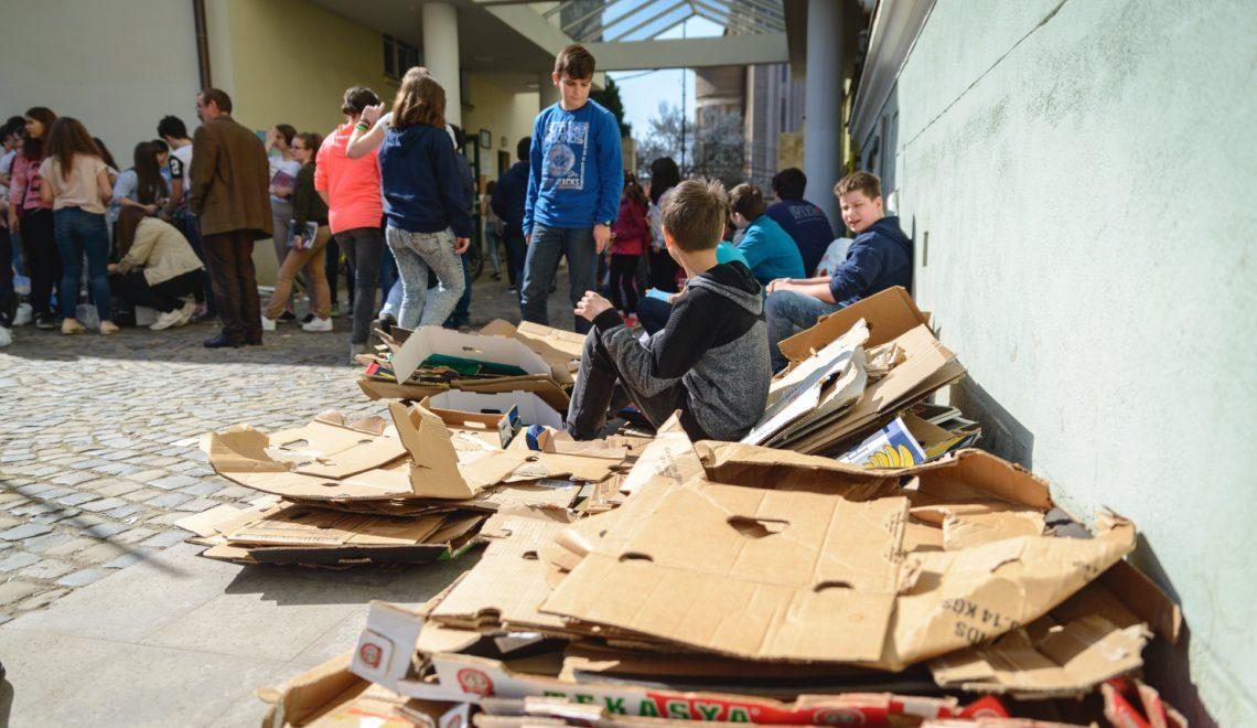 5 teherautónyi papírt gyűjtöttek a sepsiszentgyörgyi diákok